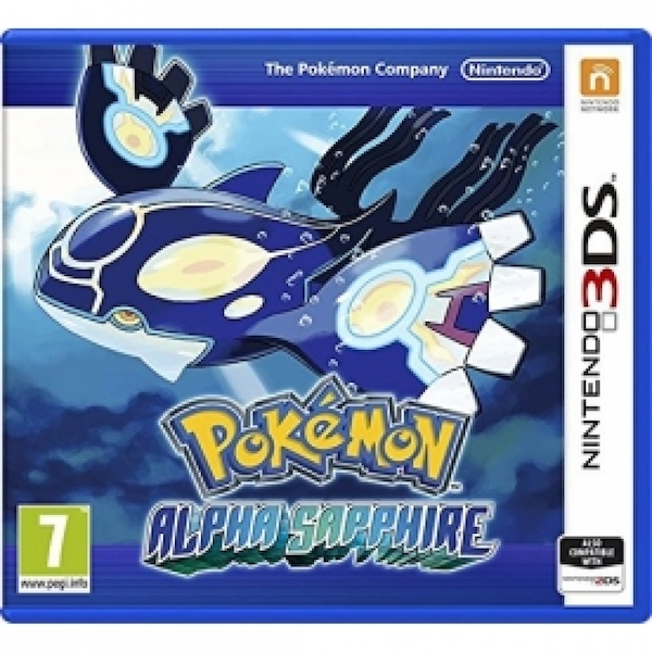 Ex-Display Pokemon Alpha Sapphire 3DS Game - Image 1