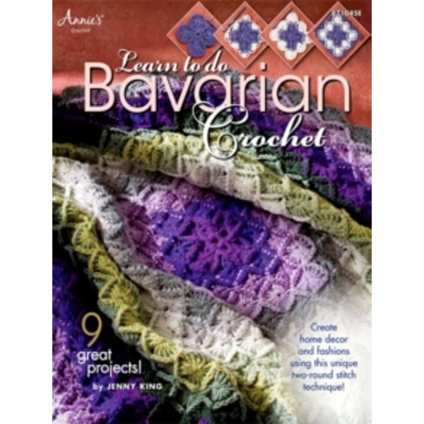 Learn to do Bavarian Crochet by Jenny King (Paperback, 2010)