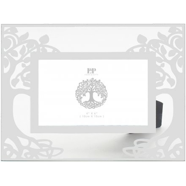 Silver Tree Picture Frame 23cm