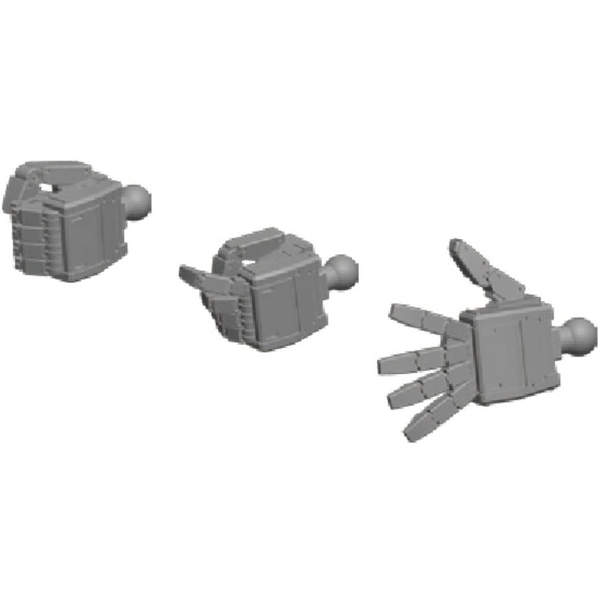 Hand Builders Parts (1/144 Scale) Large