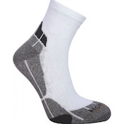 Horizon Pro Sport Quarter Socks UK Size 8-12 White