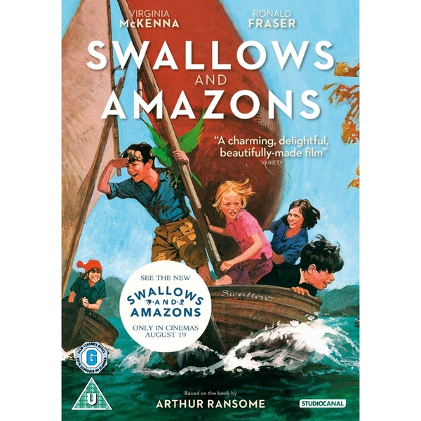 Swallows And Amazons 2016 DVD