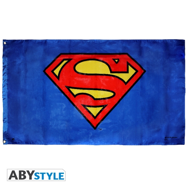 DC Comics - Superman (70 x 120cm) Large Flag