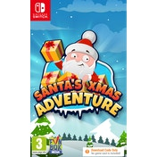 Santa's Xmas Adventure Nintendo Switch Game [Download Code in a Box]
