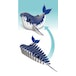 EUGY Humpback Whale 3D Craft Kit - Image 3