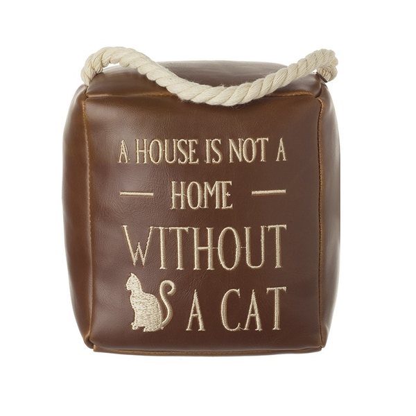 A House Is Not A Home Cat Door Stop By Heaven Sends