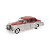 Minichamps 1:18 Bentley S2 1960 Silver/Dark Red