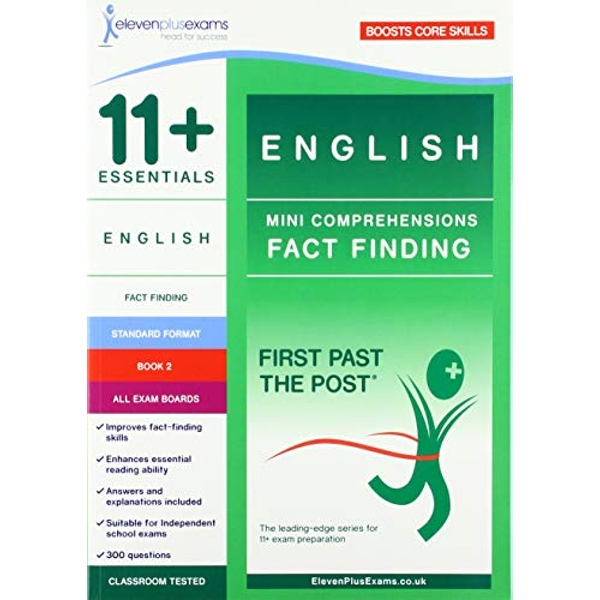 11+ Essentials English: Mini-Comprehensions Fact-Finding Book 2  Paperback / softback 2018