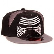 Star Wars: The Force Awakens Kylo Ren Mask Snapback Baseball Cap - Black