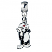 Official Looney Tunes Sylvester Silver Charm