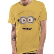 Despicable Me 2 - Minion Smile Unisex Small T-Shirt - Yellow