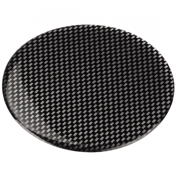 Adapter Plate for Suction Cup Bracket 85mm Self-Adhesive Black