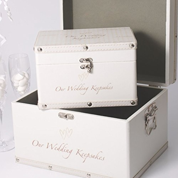 AMORE BY JULIANA? Storage Boxes - Our Wedding Keepsakes