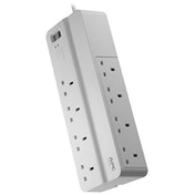 APC SurgeArrest surge protector 8 AC outlet(s) 230 V 2 m White UK Plug
