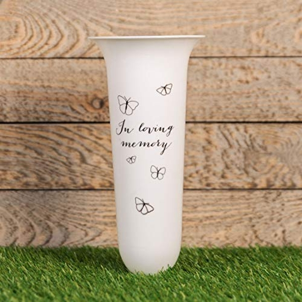 Thoughts Of You 'In Loving Memory' Vase
