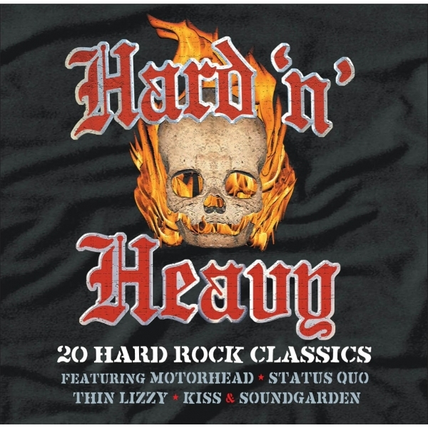 Hard And Heavy - Various Artists CD