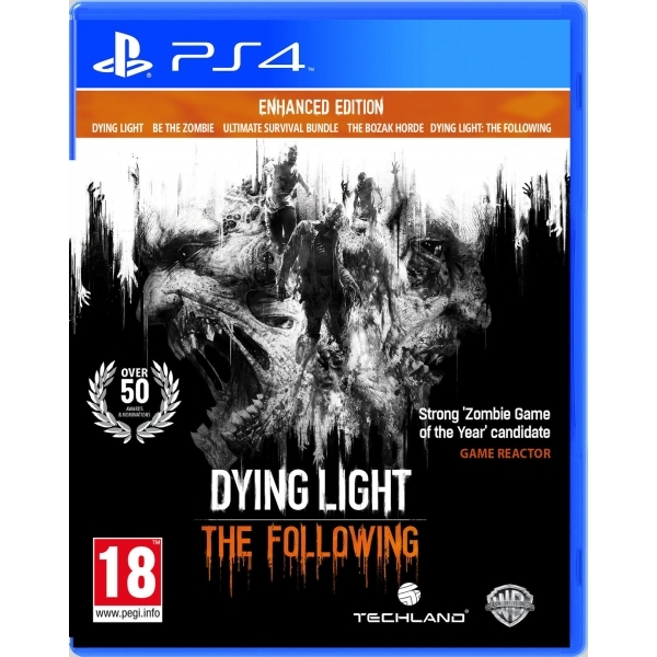 Dying Light The Following Enhanced Edition PS4 Game