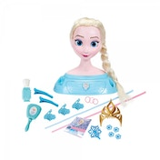 Frozen Majestic Hair Styling Head Elsa