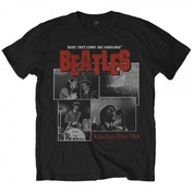 The Beatles Here They Come Mens Black T-Shirt XX Large
