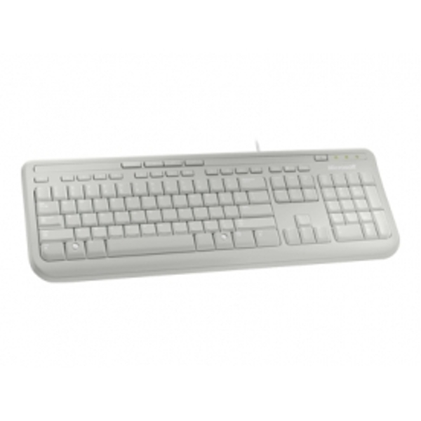 microsoft wired keyboard 600 white anb 00026. Black Bedroom Furniture Sets. Home Design Ideas