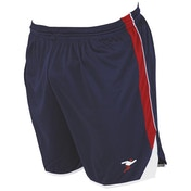 Precision Roma Shorts Junior Navy/Red/White - M/L Junior 26-28""
