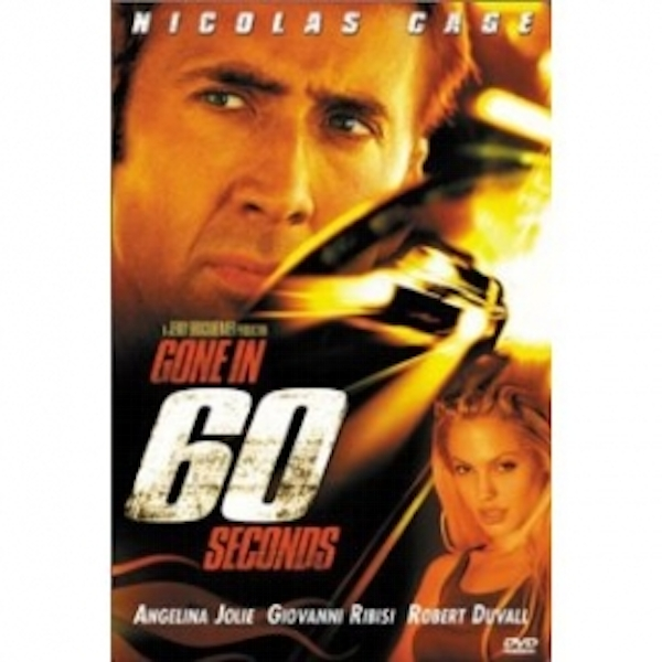 Gone In 60 Seconds DVD