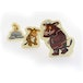 The Gruffalo Pack of 3 Chunky Wooden Puzzles - Image 2