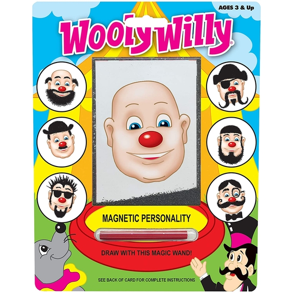 Wooly Willy Magnetic Wand game