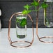 Rose Gold Centrepiece Flower Vases - Set of 2 | M&W - Image 4