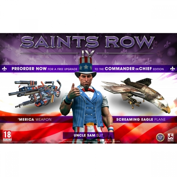 Ex-Display Saints Row IV 4 Commander in Chief Edition Game Xbox 360 - Image 2
