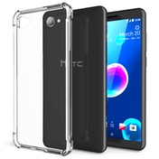 CASEFLEX HTC DESIRE 12 ALPHA TPU GEL - CLEAR