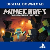 Minecraft PS3 PSN Digital Download Game