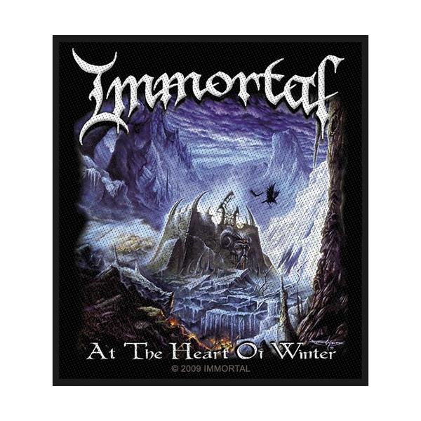 Immortal - At the heart of winter Standard Patch