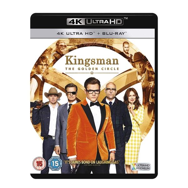 Kingsman: The Golden Circle 4KUHD   Blu-ray