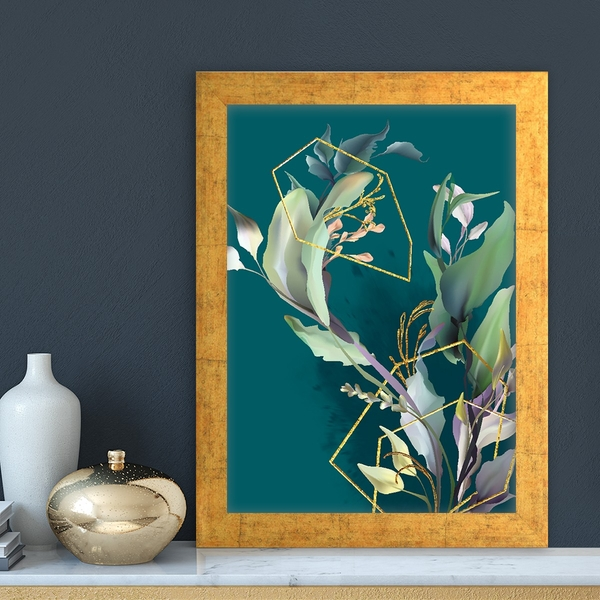 AC14867169681 Multicolor Decorative Framed MDF Painting