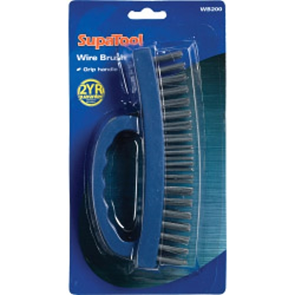 SupaTool Wire Brush With Grip