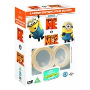 Ex-Display Despicable Me / Despicable Me 2 (with Limited Edition Minion Goggles) DVD 2013 Used - Like New
