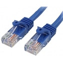 Cat5e patch cable with snagless RJ45 connectors   2m  blue