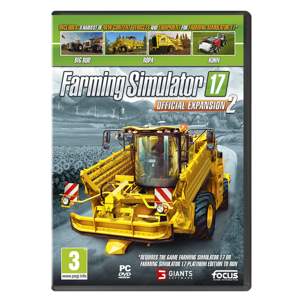 Farming Simulator 17 Official Expansion 2 PC Game