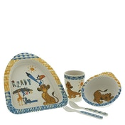 Enchanting Disney Simba Organic Dinner Set