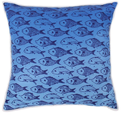 Fish Printed Cushion