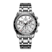 Rotary GB90169/02 Quartz Legacy Gents Bracelet Stainless Steel Watch