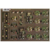 Heroes of Normandie Canadian Platoon Punch Board