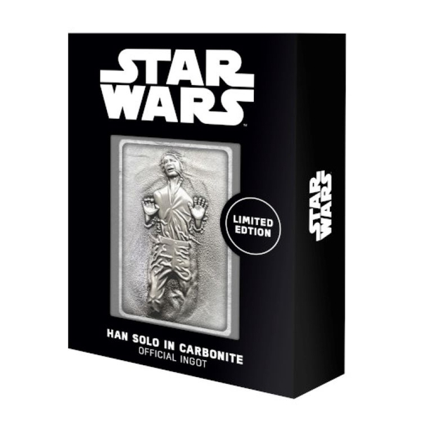 Han Solo Iconic Scene (Star Wars) Limited Edition Metal Collectable Ingot