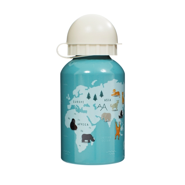 Sass & Belle Endangered Animals Kids Metal Water Bottle