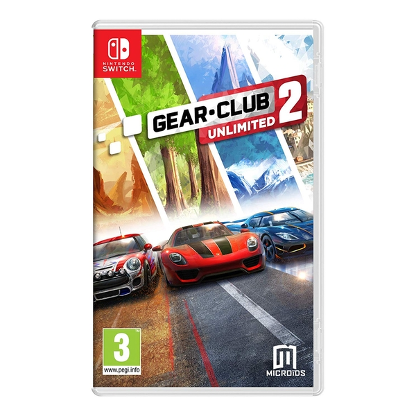 gear club unlimited 2 nintendo switch. Black Bedroom Furniture Sets. Home Design Ideas