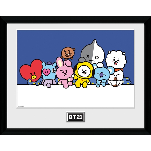 BT21 - Group Collector Print