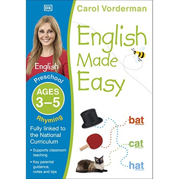English Made Easy Rhyming Ages 3-5 Preschool  Paperback / softback 2014