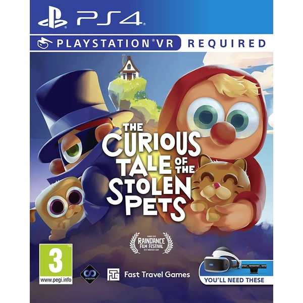 The Curious Tale of the Stolen Pets PS4 Game (PSVR Required)