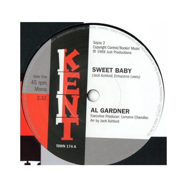 Al Gardner / Jack Ashford - Sweet Baby / I'll Fly To Your Open Arms Vinyl